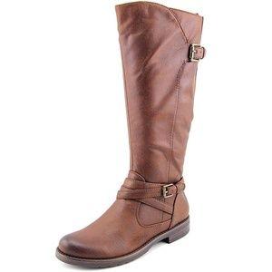 New BareTraps Corrie Riding Boots, Brown, Size 9M